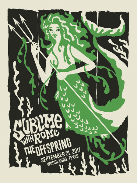 SUBLIME with ROME - THE OFFSPRING Poster