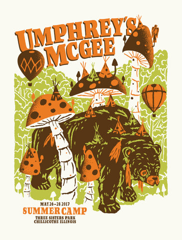UMPHREY'S MCGEE Summer Camp 2017