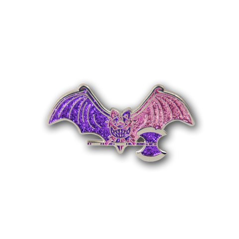 BLINGIN' BATTLE BAT - Soft Enamel Pin