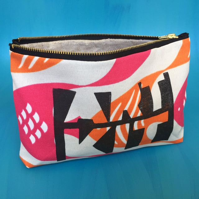 M.C. Escher Inspired Art Kit Zippered Canvas Bag