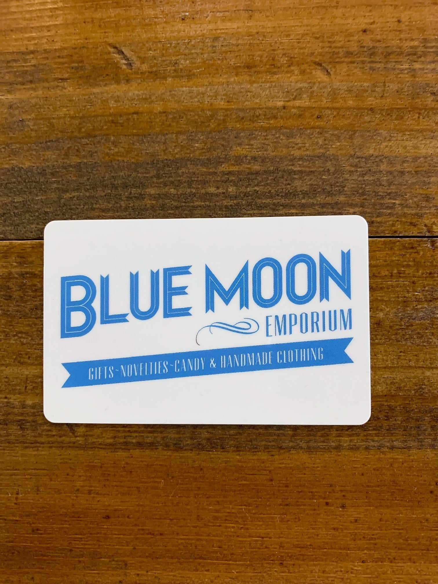 Blue Moon Gift Card