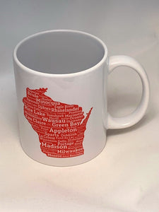 Wisconsin Cities Mug