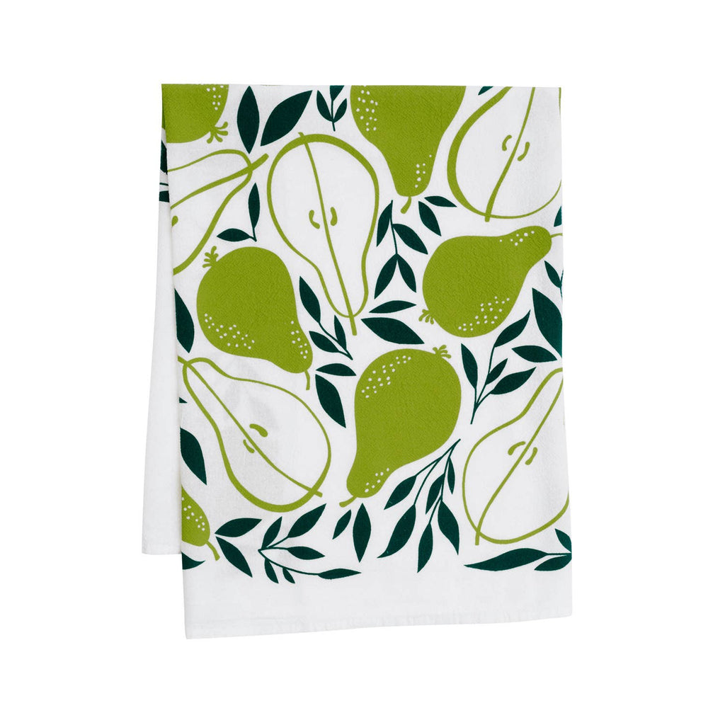 Pears Dishtowel by Hazelmade