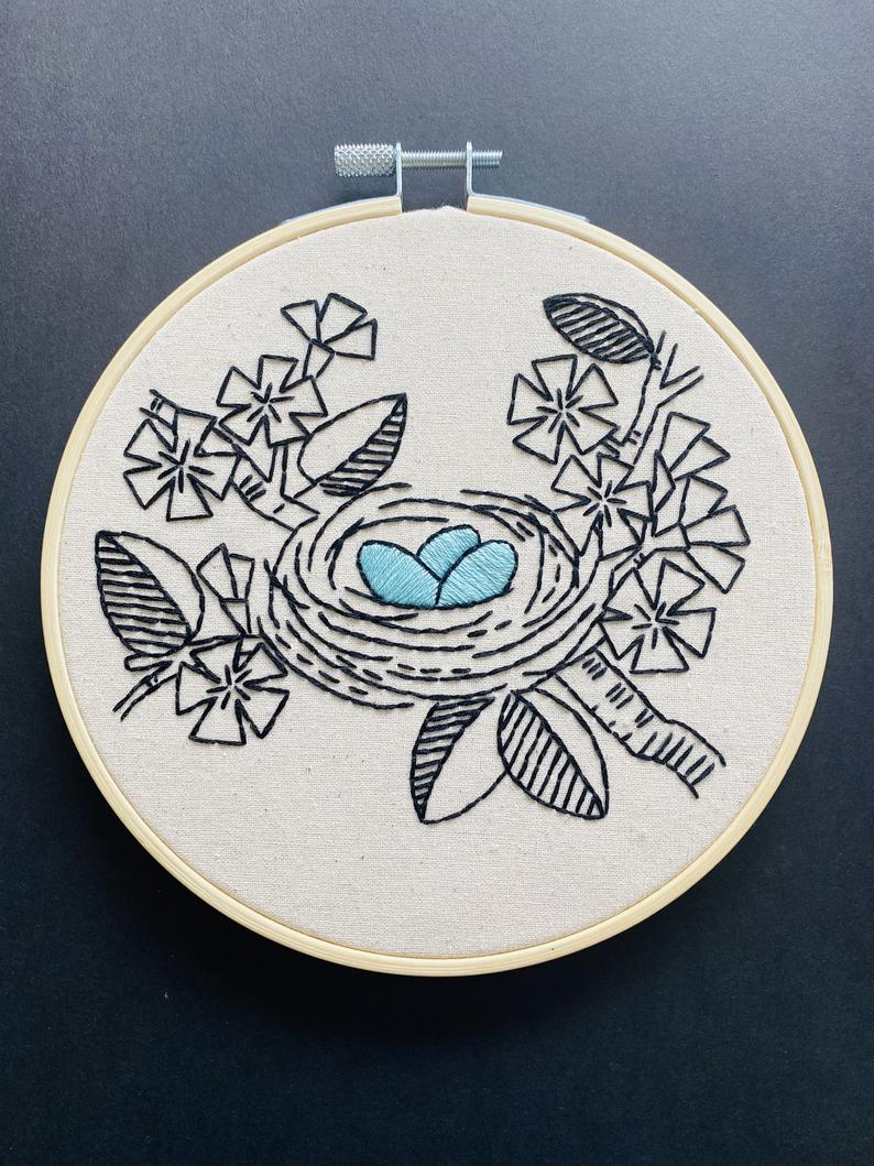 Hook, Line and Tinker Embroidery kits