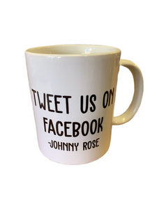 Tweet Us On Facebook 11 oz. mug