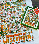 Wonders of Wisconsin dishtowel by Keep the Faye