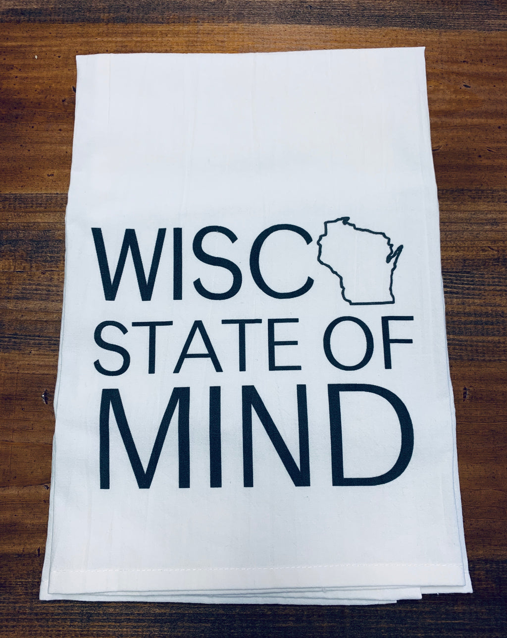 Wisco State of Mind Dishtowel