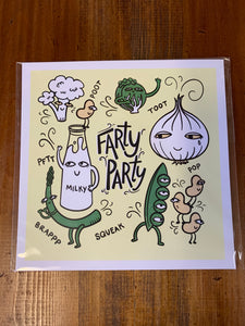 Fatty Party print