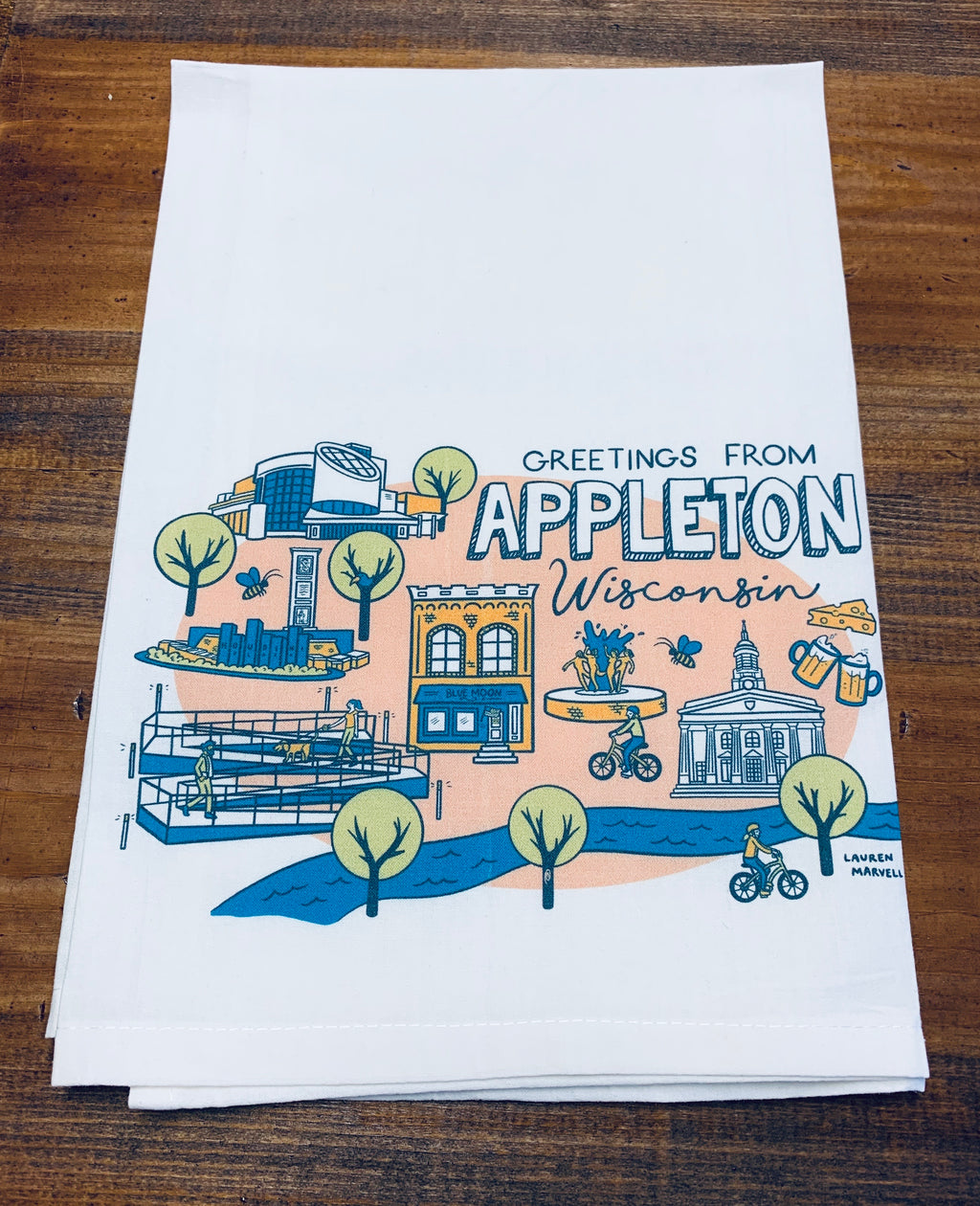 Greetings from Appleton Dishtowel
