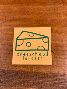 Cheesehead forever magnet