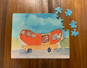 Puzzles assorted 80 pieces