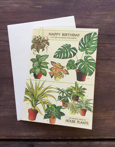 Happy Birthday Fun To Watch You Grow Greeting Card
