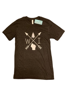 Wisconsin Arrow Unisex T-shirt