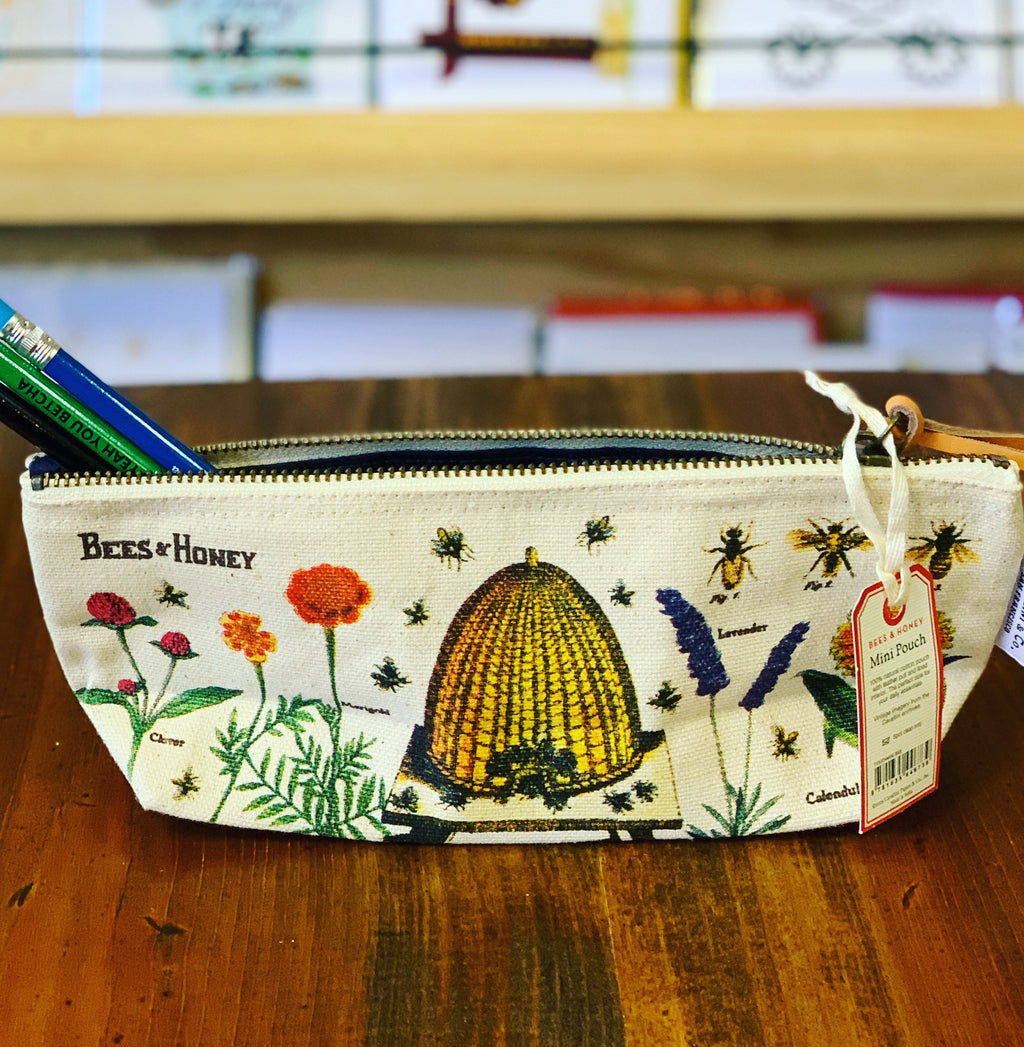 Bee pencil bag