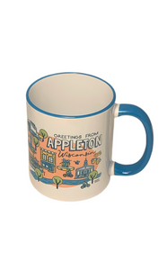 Greetings from Appleton Mug