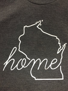 Wisconsin Home T shirt Unisex