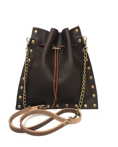 Mojo Bag - Brown oil tanned leather