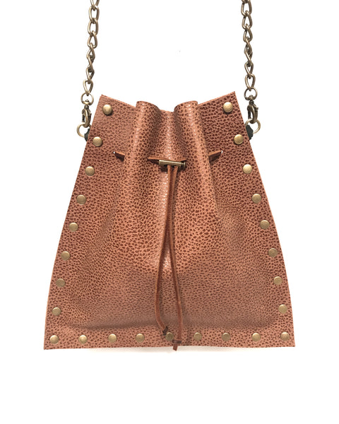 Mojo Crossbody - Pebbled Brown