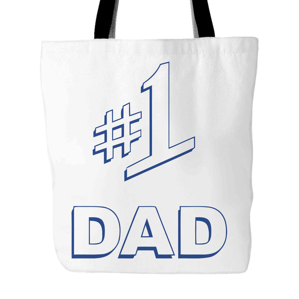 #1 Dad Gift Number One Best Ever Seinfeld Super Father's Day Tote Bag