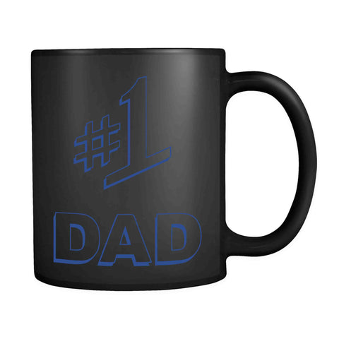 #1 Dad Gift Number One Best Ever Seinfeld Super Father's Day 11oz Mug