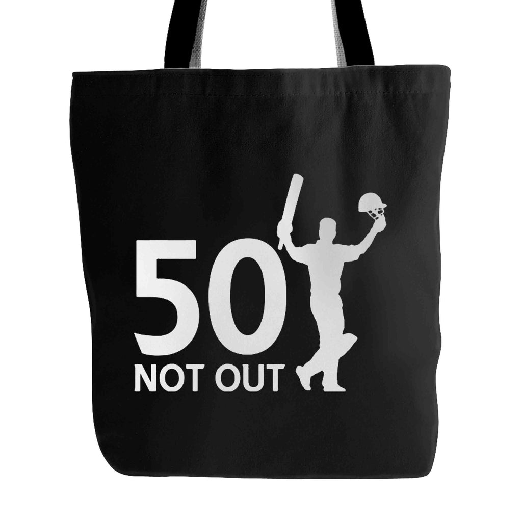 50 Not Out Birthday Or Celebration Thank You Tote Bag