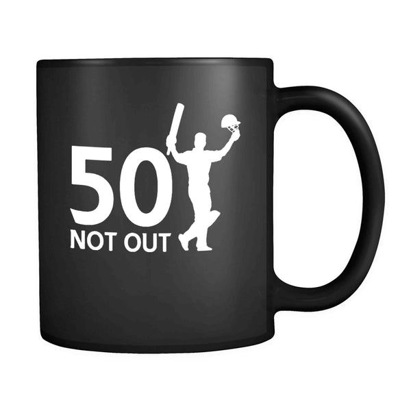 50 Not Out Birthday Or Celebration Thank You 11oz Mug