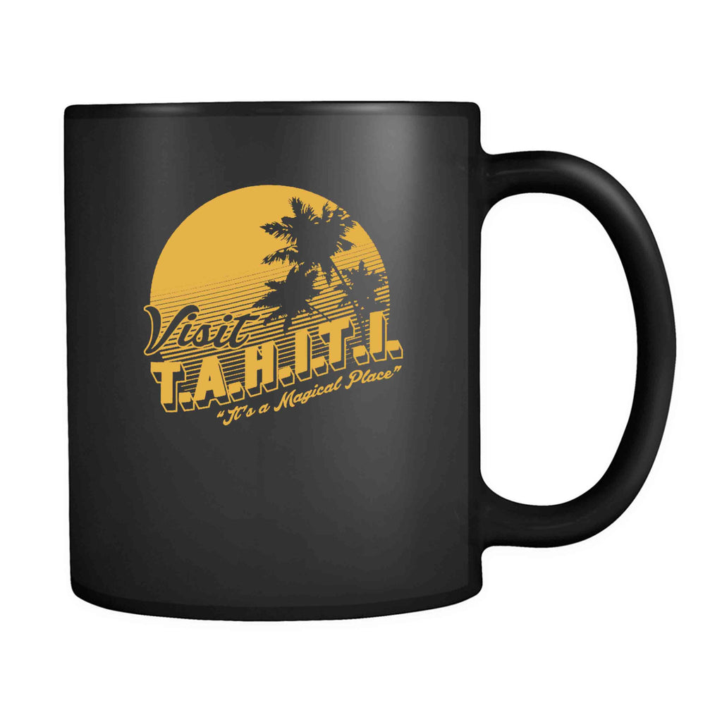 Agents Of Shield Visit Tahiti It's A Magical Place 11oz Mug