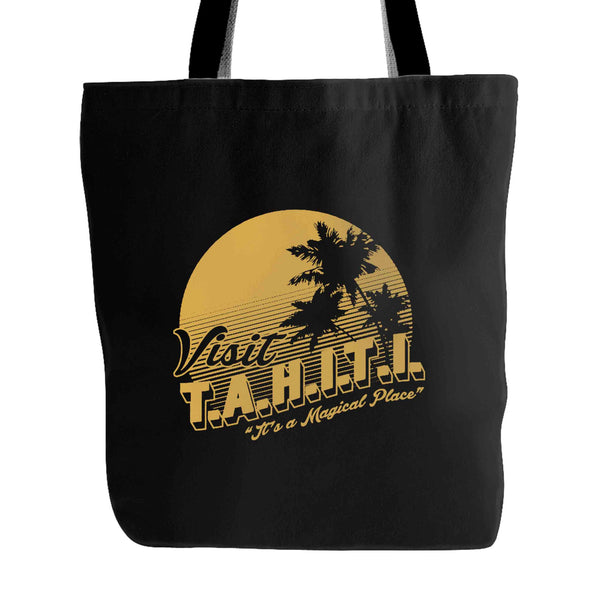 Agents Of Shield Visit Tahiti It's A Magical Place Tote Bag