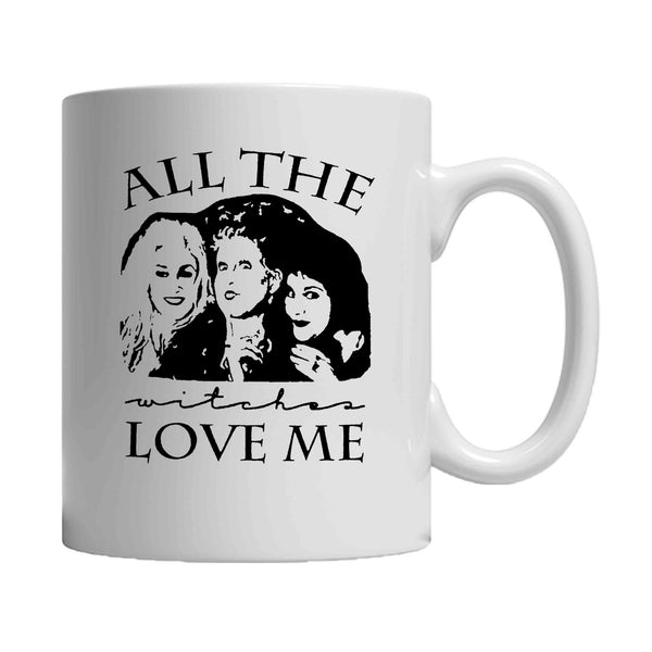 All The Witches Love Me Hocus Pocus Halloween 11oz Mug