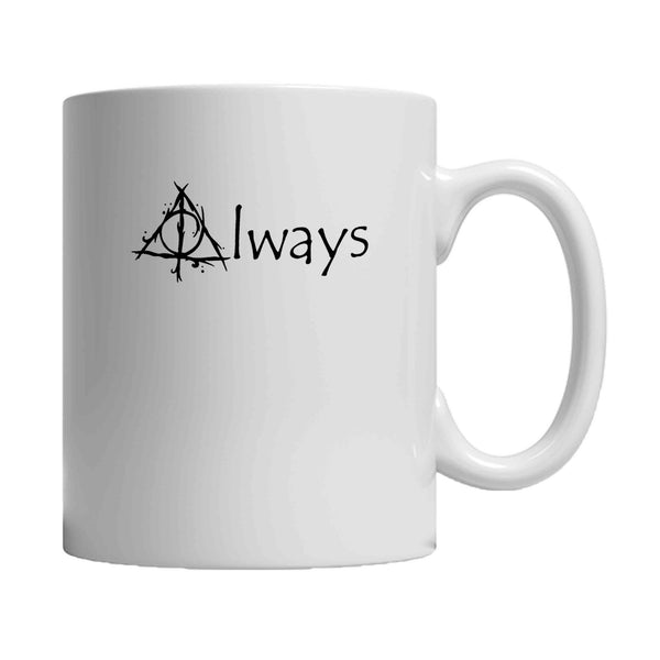 Always Harry Potter Hogwarts Deathly Hallows Special After All This Time 11oz Mug