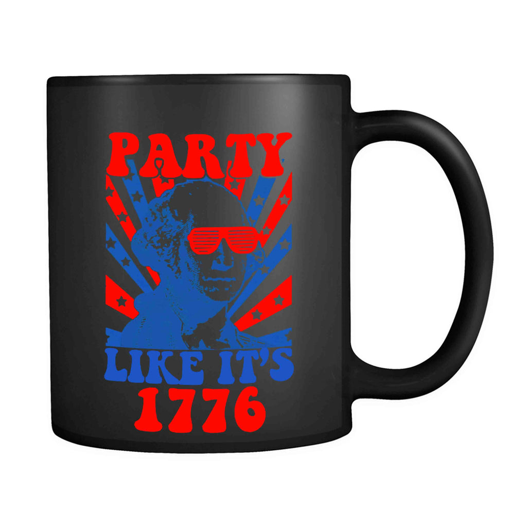 America 4th of July Party Like Its 1776 Tee USA Funny Independece Day Drinking Beer America 11oz Mug