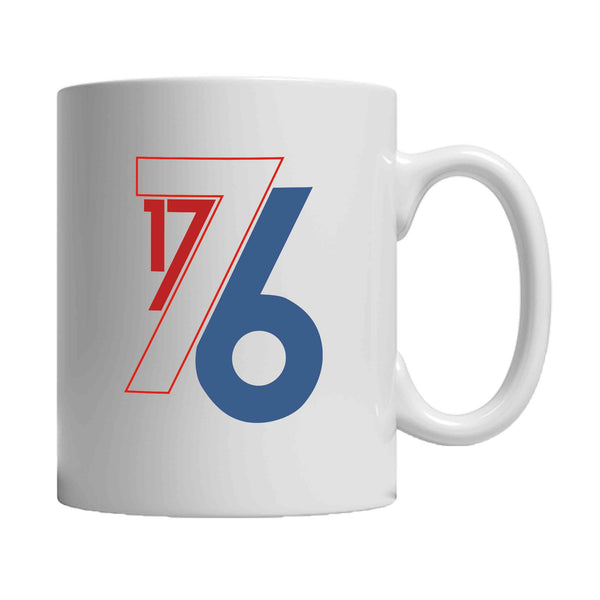 America Est. in 1776 4th of July Party Patriot USA Red White and Blue 11oz Mug