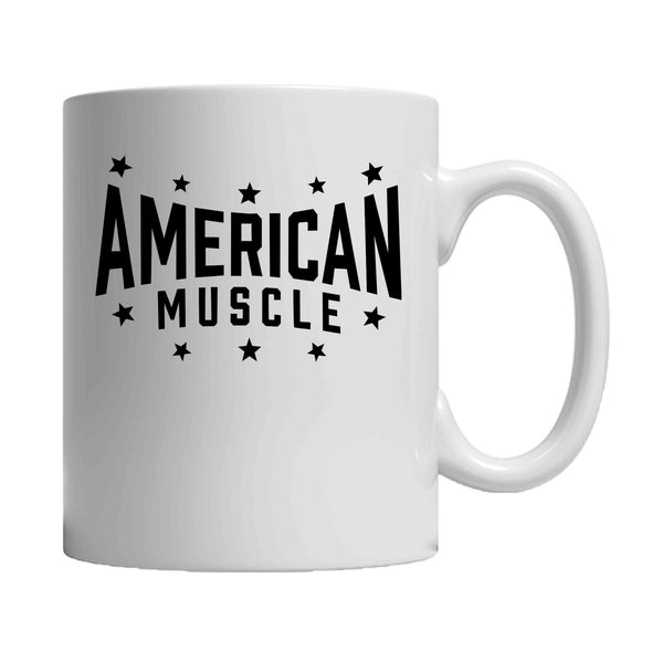 American Muscle Powerlifting Fitness Gym Workout 11oz Mug