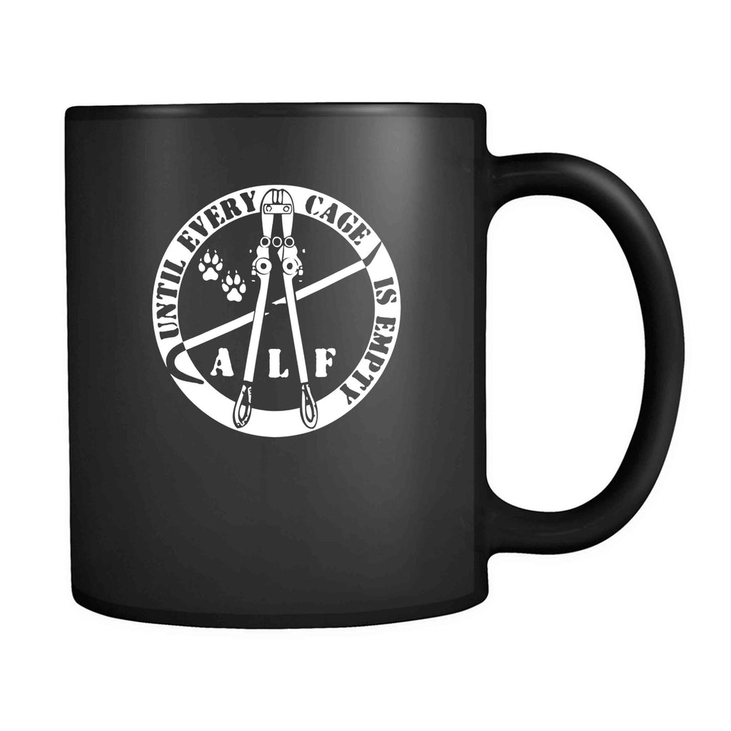 Animal Rights Vegetarian Vegan Cool Alf 11oz Mug