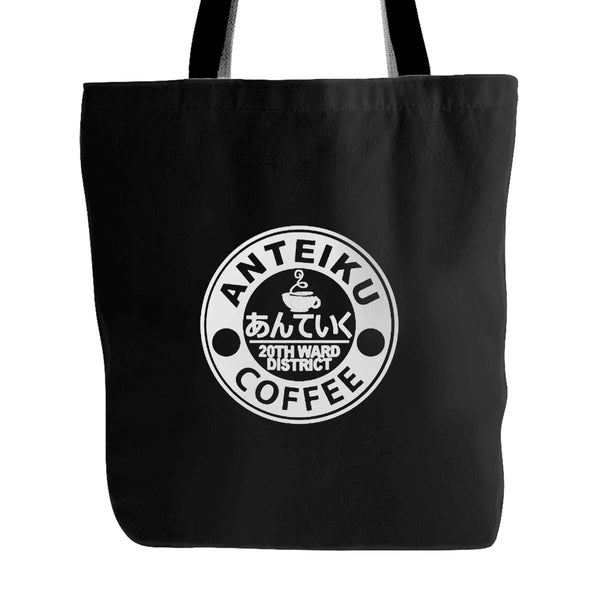 Anteiku Coffee 20th Ward District Anime Tokyo Ghoul Inspired Tote Bag