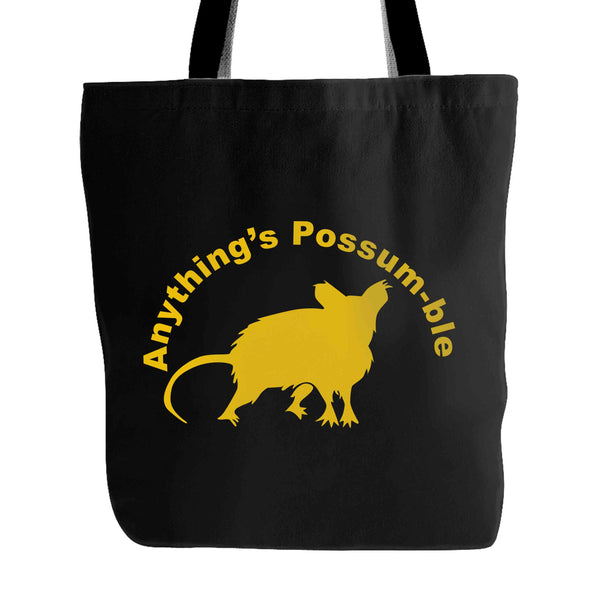 Anything's Possum-Ble Rally Possum Tote Bag