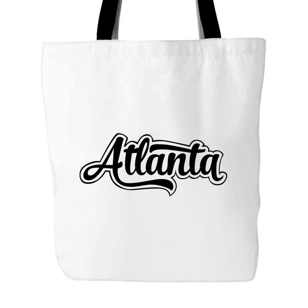 Atlanta Vintage City Tote Bag