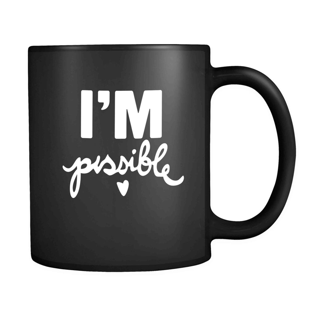 Audrey Hepburn Quote I'm Possible Audrey Hepburn Quote Yoga Gifts Never Give Up Perseverance 11oz Mug