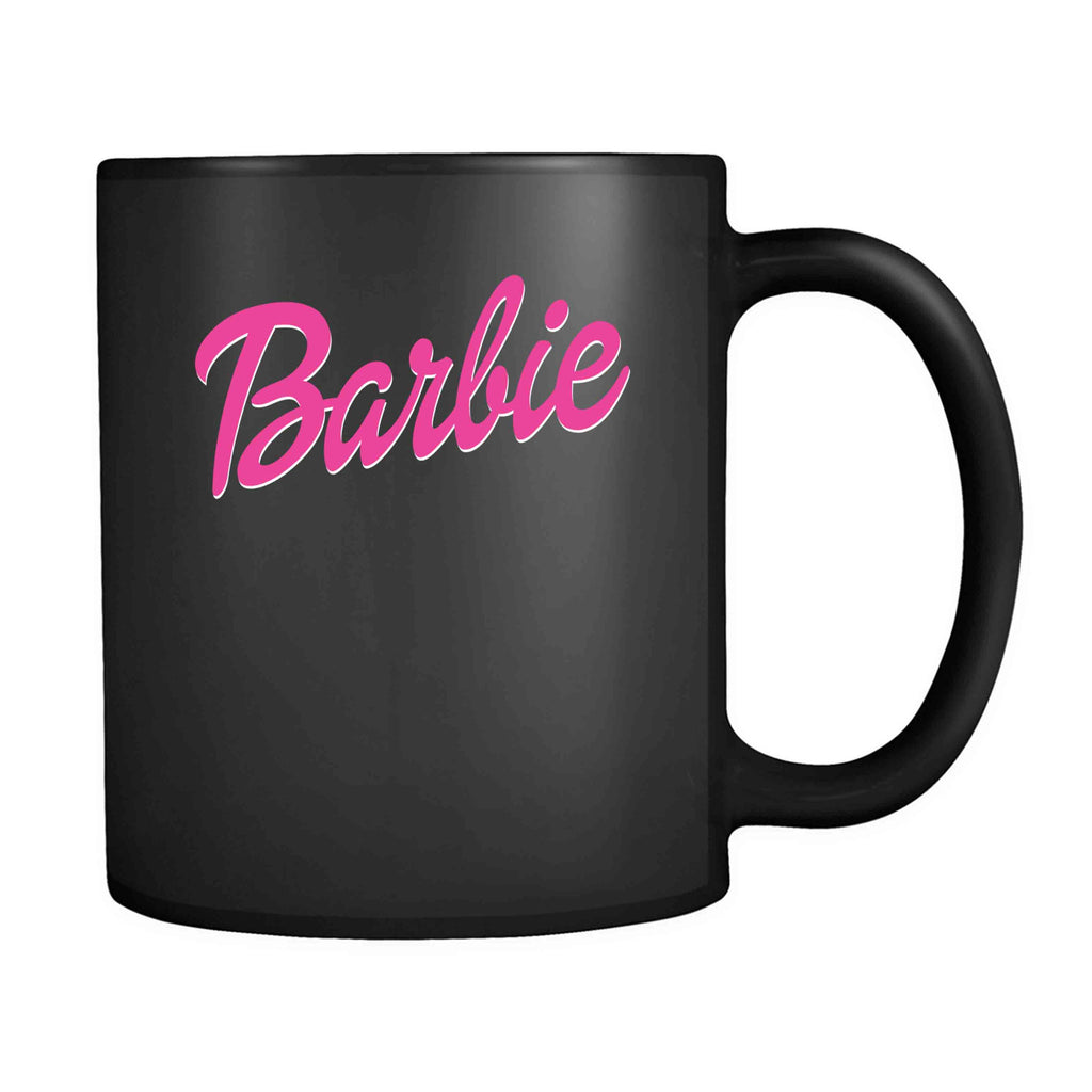 Barbie Womens Ladies Barbie Girly 11oz Mug