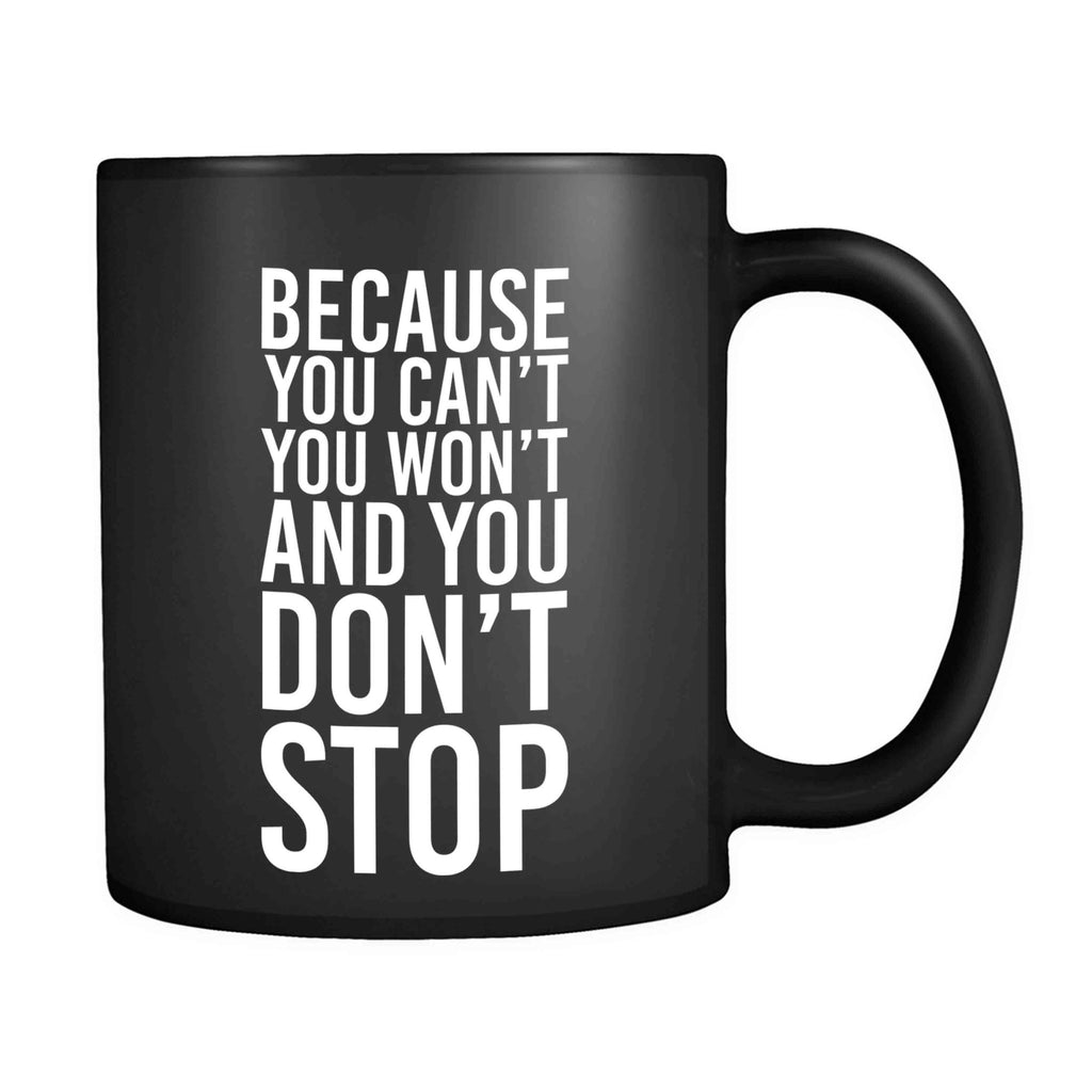 Because You Cant, You Won't And You Don't Stop Beastie Hip Hop Rap Ill Communication Lyrics 11oz Mug