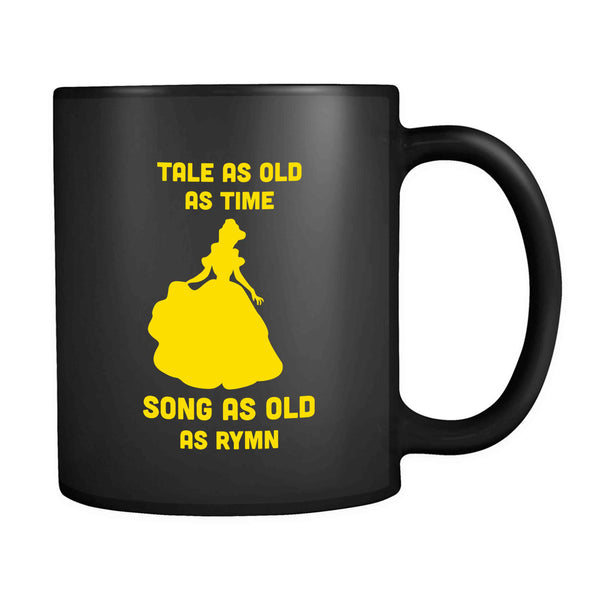Belle Disney Princess Tale As Old As Time Song As Old As Rymn 11oz Mug