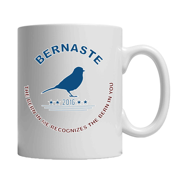 Bernie Sanders Bernaste 2016 Election Party Vote For Bernie The Bern in Me 11oz Mug