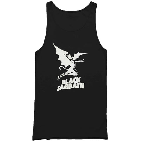 Black Sabbath Ozzy Osbourne Metal Rock Band Man's Tank Top