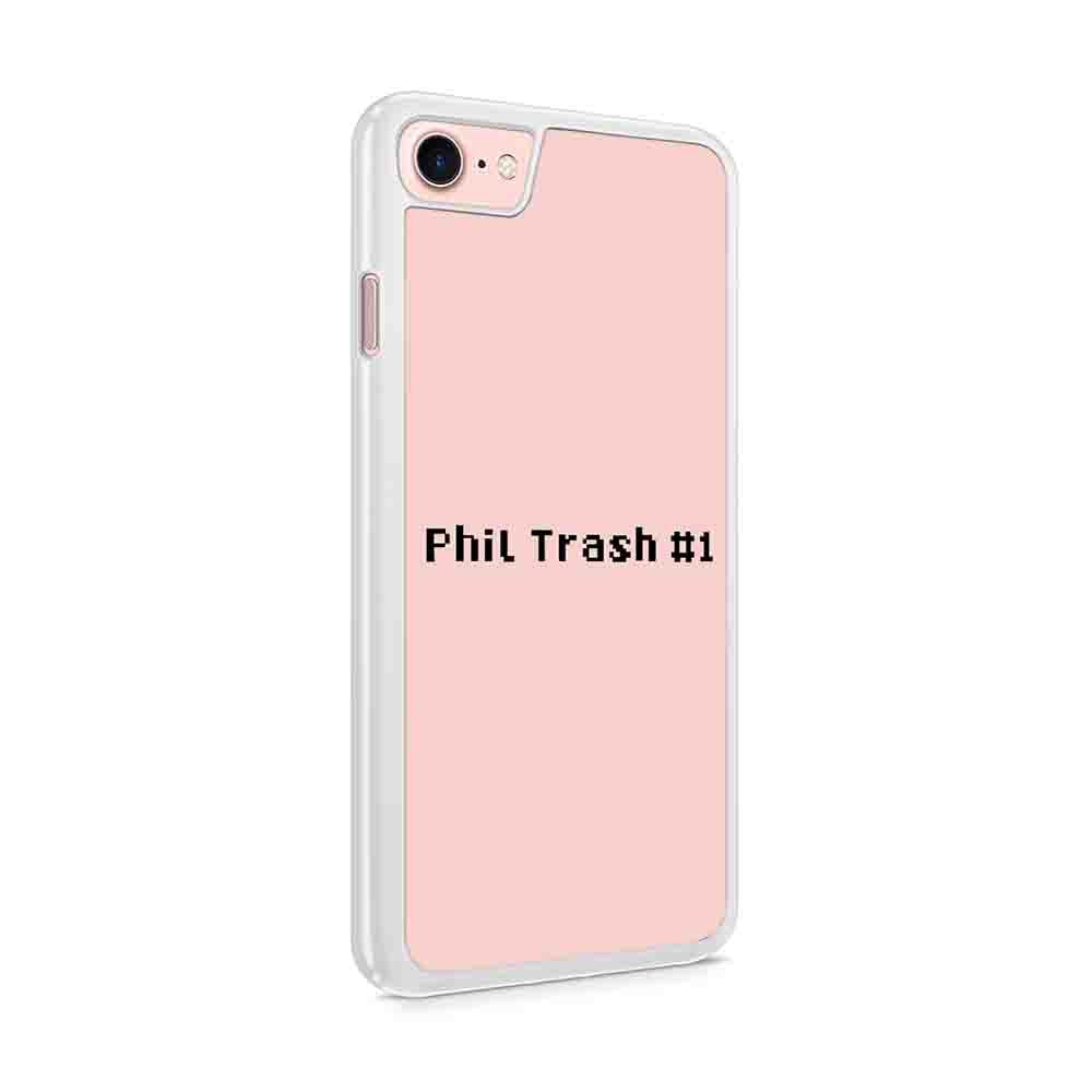 Dan And Phil Inspired Phil Trash 1 Iphone 7 / 6 / 5 Case