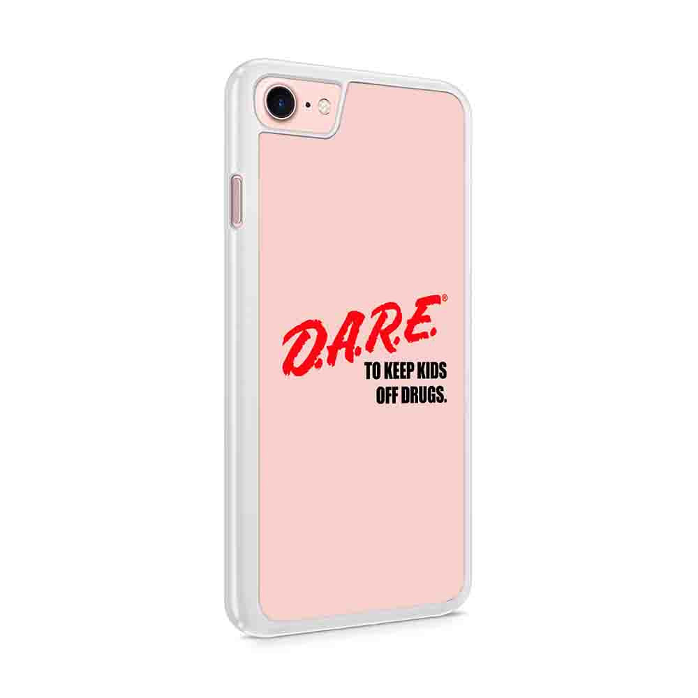 Dare Vintage Logo To Keep Kids Off Drugs Iphone 7 / 6 / 5 Case
