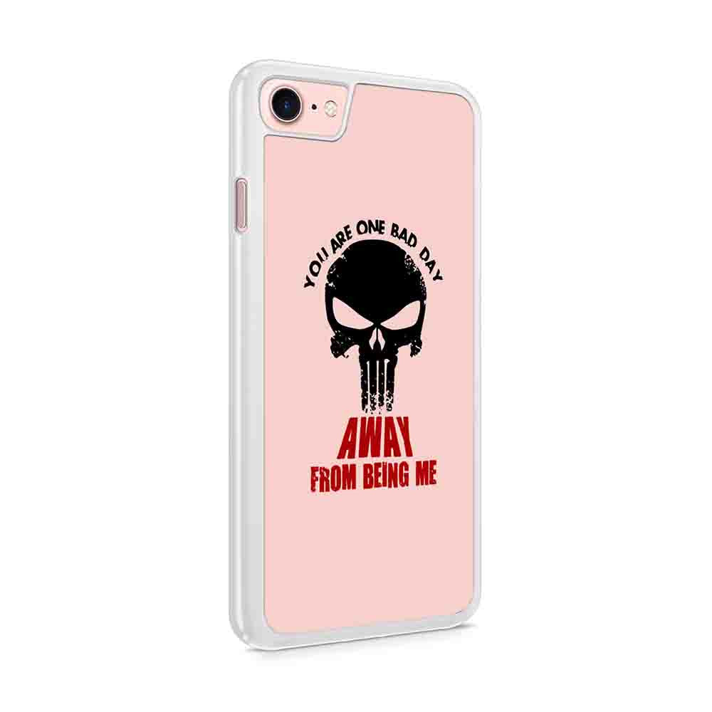Daredevil Punisher You Are One Bad Day Away From Being Me Iphone 7 / 6 / 5 Case