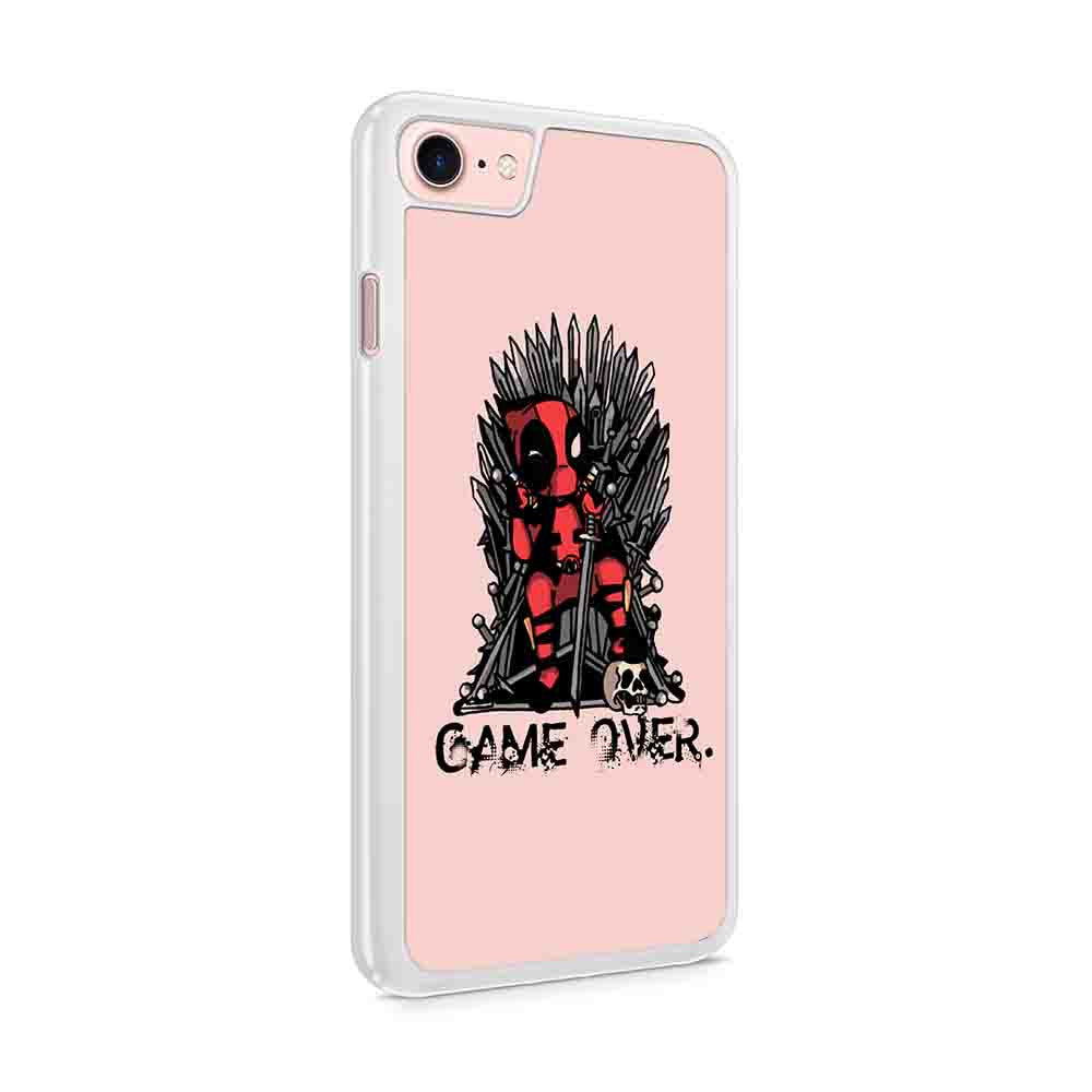 Deadpool Game Of Thrones Marvel Game Over Iphone 7 / 6 / 5 Case