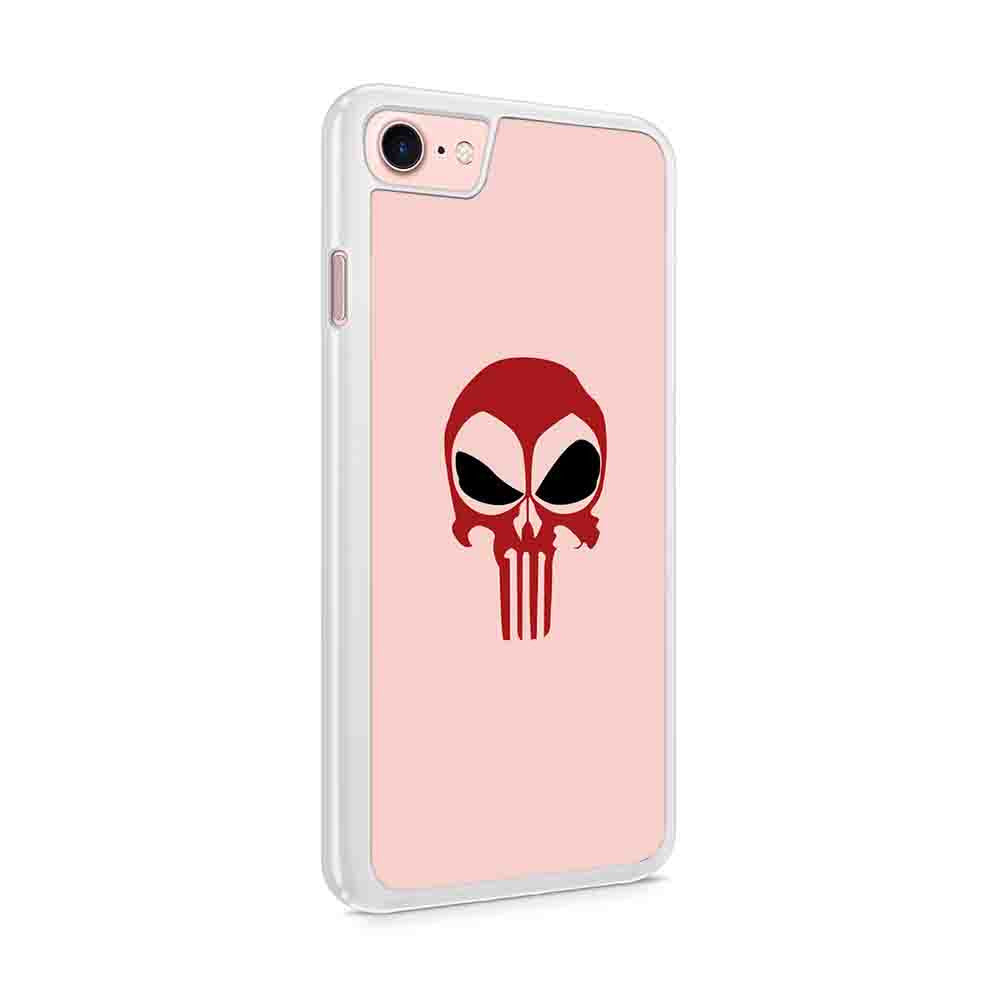 Deadpool Punisher Marvel Comics Deadpool Punisher Skull Instagram Iphone 7 / 6 / 5 Case