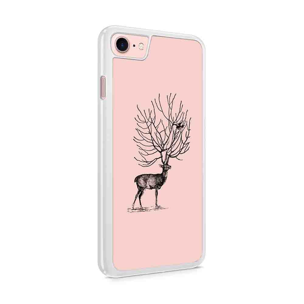 Deer And Bird Iphone 7 / 6 / 5 Case