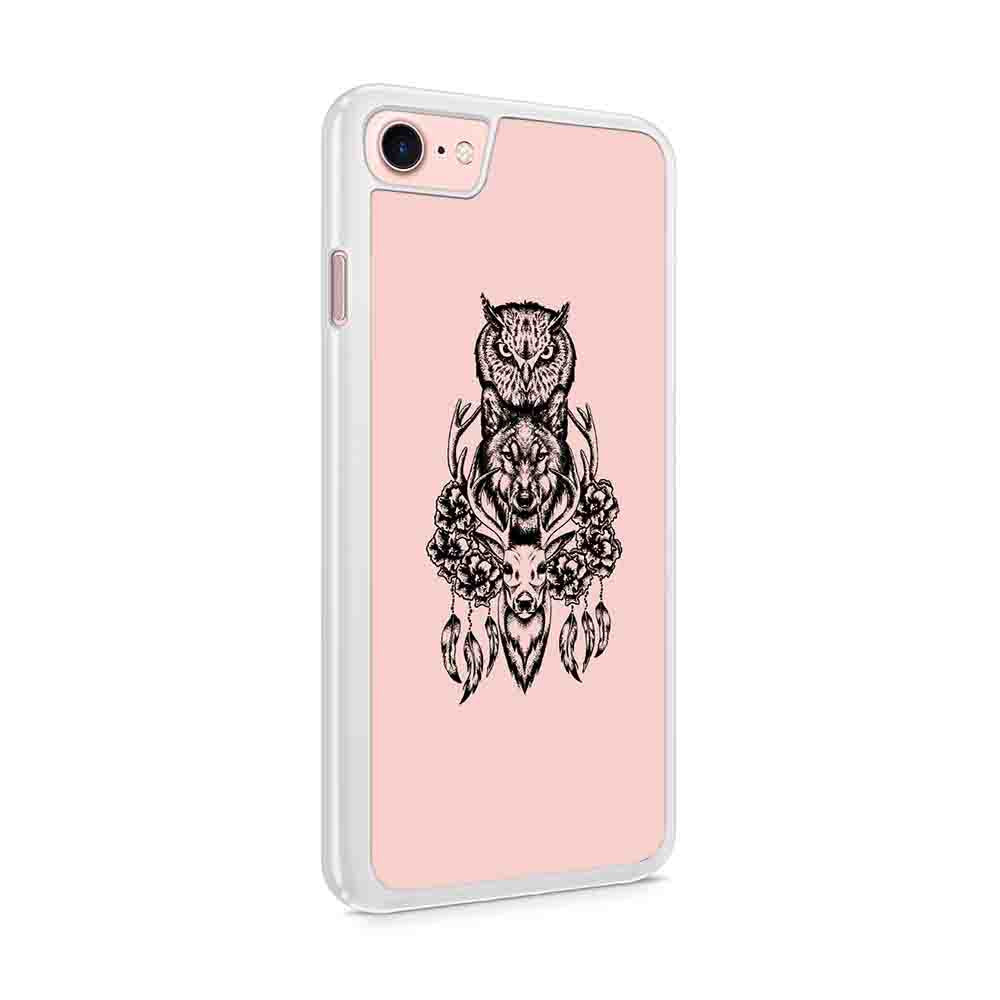 Deer Owl Wolf Instagram Like Iphone 7 / 6 / 5 Case